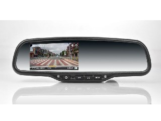 4.3 inch car DVR mirror