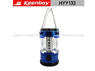 Outdoor LED solar camping emergency lamp,,rechargeable,tent, lantern, hiking.HYY133