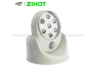 360 degrees automatic induction lamp,light angel,base rotates 360° sener light,night light,JGY005