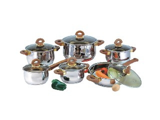 17PCS COOKWARE SET  HFB1205