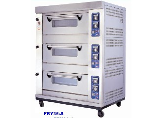 Gas-Firde Food Oven -FRY36-A