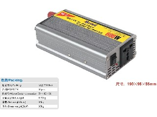 600W Modified Sine Wave DC to AC Power Inverter with Universal Socket
