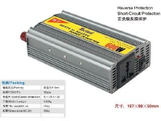 600W Power Inverter with Reverse Protection M600