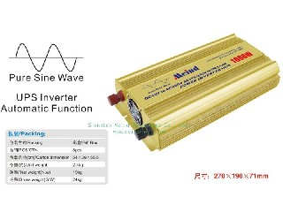 1000W Power Inverter Pure Sine Wave with UPS and Charger MZ1KU