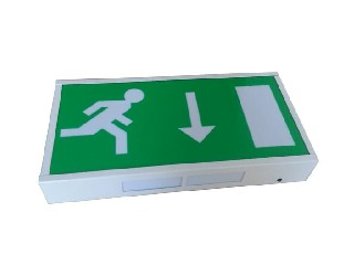 exit signs llluminated
