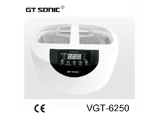 VGT-6250 2.5L Home use Jewelry Ultrasonic Cleaner tank Cleaning machine