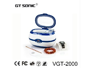 Home use Jewelry Ultrasonic Cleaner tank Cleaning machine 600ml VGT-2000