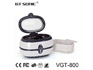 mini ultrasonic cleaner for home use jewelry cleaning VGT-800  600ml