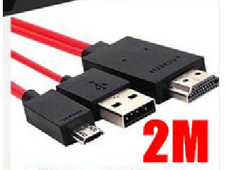 5pcs 11Pin Micro USB MHL to HDMI 1080P HDTV Adapter Cable to TV For Samsung Galaxy S3 i9300 Note 2 S