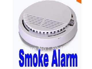 Smart House Sensitive Photoelectric Home Security System Cordless Wireless Smoke Detector Fire Alarm