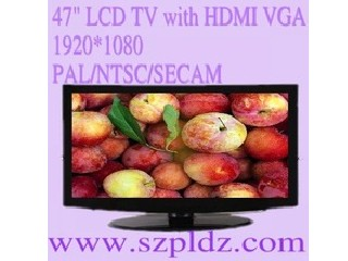 "LCD TV 47""HDMI/AV/VGA/HD/1080P"