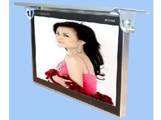 19inch wifi /3g network lcd bus advertising screen