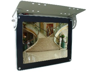 22inch wifi /3g network lcd bus advertising screen
