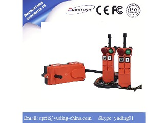Industrial electric chain hoist remote control