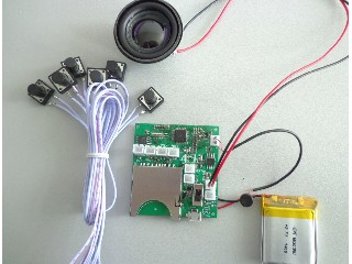 SD card recording module for electronic toys can be stock large