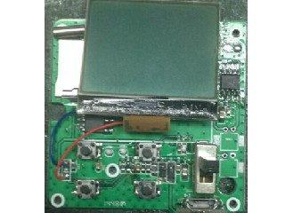SD card recording module for MP3 player