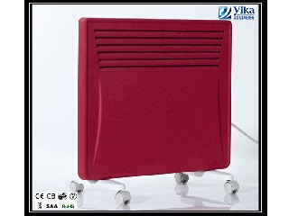 Efficient Red Panel Convector Heater for 2014 PANEL C-1500