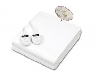 Double controllers electric blanket  LCD08