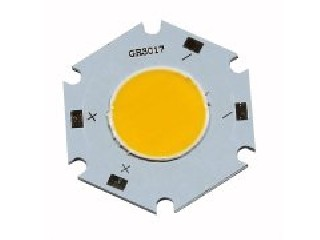 3W high power COB light source plate 3017 white 3000K