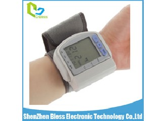 BLS1101 CE Approved Endurable Use Digital Wrist Blood Pressure Monitor