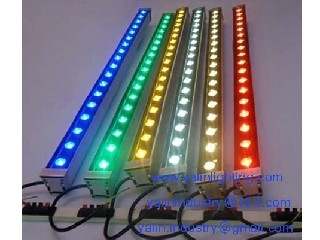 RGB LED wall washer lights, outdoor IP65 square wall lighting, colorful light