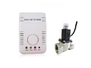 Personal Combustible Gas Detector With Shut Off Valve Smart Home Alarm AK-200FC/HS2