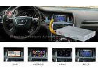 Mirrorlink Audi Video Interface with Video Recorder , Audi A8L A6L Q7 Multimedia Interface