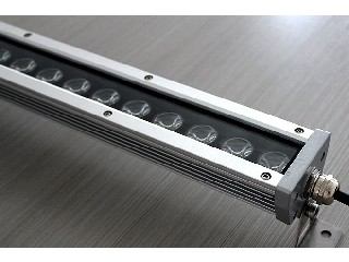 Ultra-thin linear led wall washer BS-UT12x3-RGB-24
