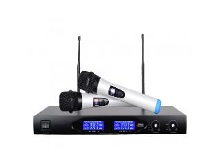 Double channel UHF Wireless Microphone System VA25
