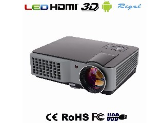 RD-801B 2015 new arrival projector low cost 1080p native led projector Built in Android WiFi