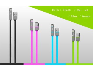2015 New Converter China suppiler different usb otg cable for apple,rose,black. green ect
