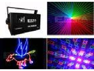 1.3W Full Color Pro Animation laser light For Roller skating Rinks