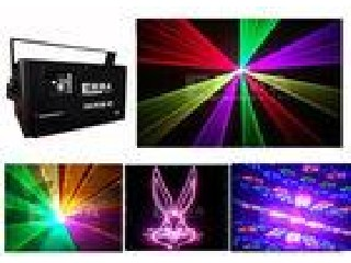 1.5W RGB Animation Laser Light DJ Stage Lighting , Cartoon Laser Light High Power