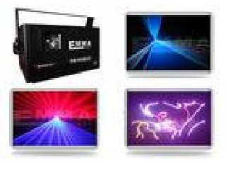 4000RGB 4 Watt Full Colour RGB ILDA SD Laser Light Show Projector
