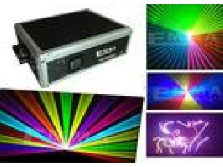 DJ Equipment 4W 4000mW PRO RGB Animation Stage Pub Show Laser Light Projector