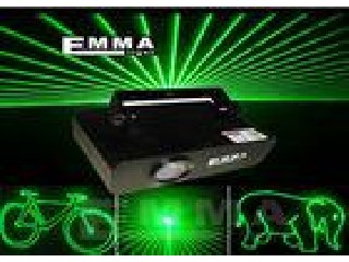 200MW Green Mini Dj Laser Lights Projector For Club / Party / Disco / Bar / Pub