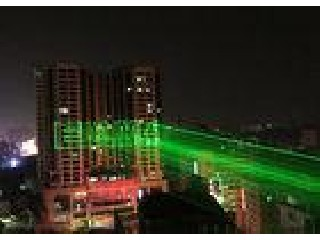 10w Outdoor Dj Laser Lights , Dmx Laser Display System Voice Control