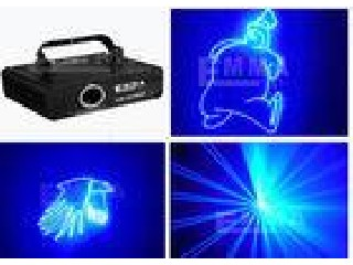 2W Blanking Programmable Laser , Dj Strobe Lights For Movie Theaters