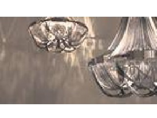 Luxury villas Large Modern Chandeliers Interior Chrome Metal Chain Suspension Lighting