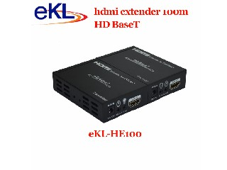 4Kx2K HDMI Extender 100 meter with HD BaseT function