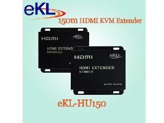 HDMI KVM Extender using UTP CAT5E/6 up to 150m Compliance with hdcp 1.3