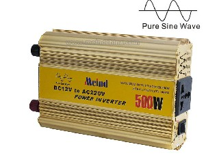 500W Power Inverter with Prue Sine Wave and Reverse Protection MZ500