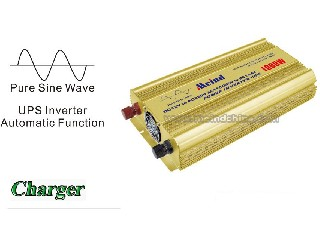 Hot Selling Pure Sine Wave Built-In Charger UPS DC to AC Continuous 1000W Peak 2000 Watt Power Inver