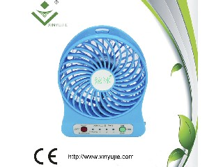 Lithume battery 18650 rechargeable 3 gears handhheld fan