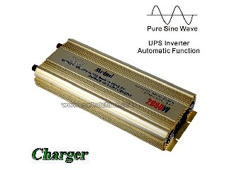 High Quality PSW Pure Sine Wave Built-in Charger UPS DC 12V to AC 220V Sufficient 2000W Peak 4000W P