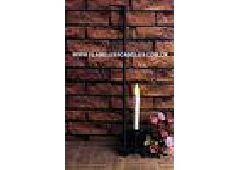 Door Hanging Flameless Window Candles / Classic Oil Rubbed Bronze Finish LED Window Candles