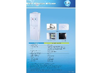 water dispenser with filter system 5X7 POU