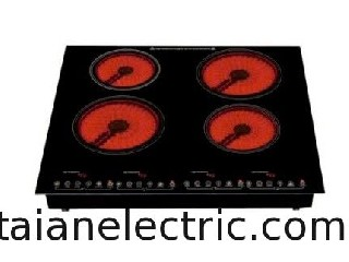4-burner Infrared cooker, Touch control