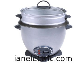 Drum Rice cooker with Lotus base, oster style, with/without steamer