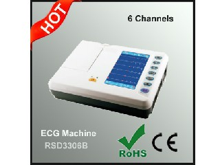 6 Channels ECG Machine